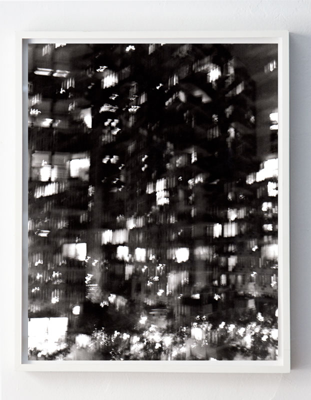 """""""Rooftop on 34th Street, facing North, #02, 8:54pm,"""" New York City, 2013"""