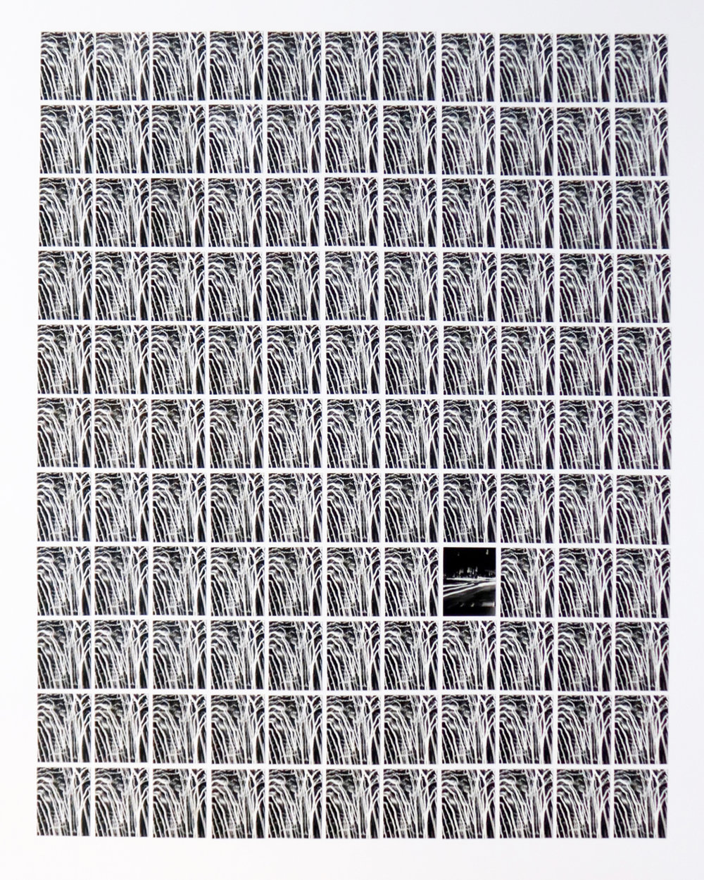 """Multiples 121, Grid #1,"" New York City, 2017"