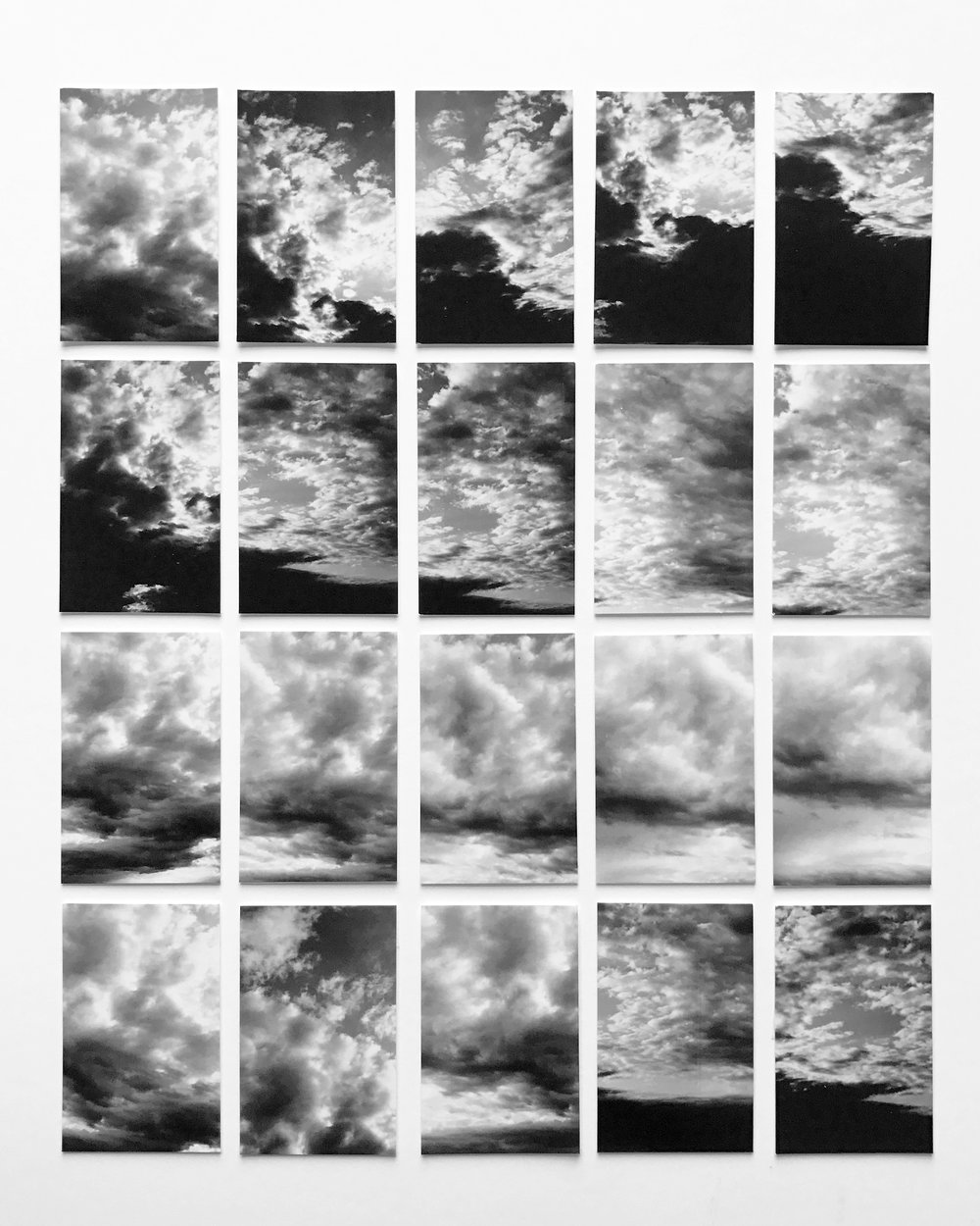 """The Story of Clouds,"" Cape Cod, MA, 2010"