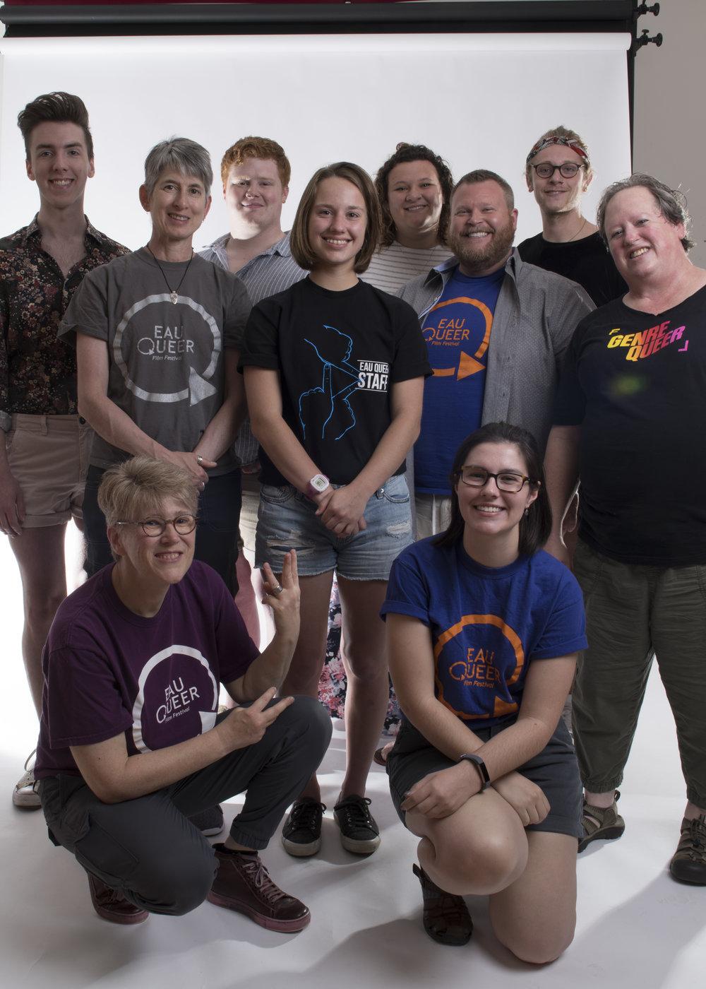 Eau Queer Film Festival 2018 Staff