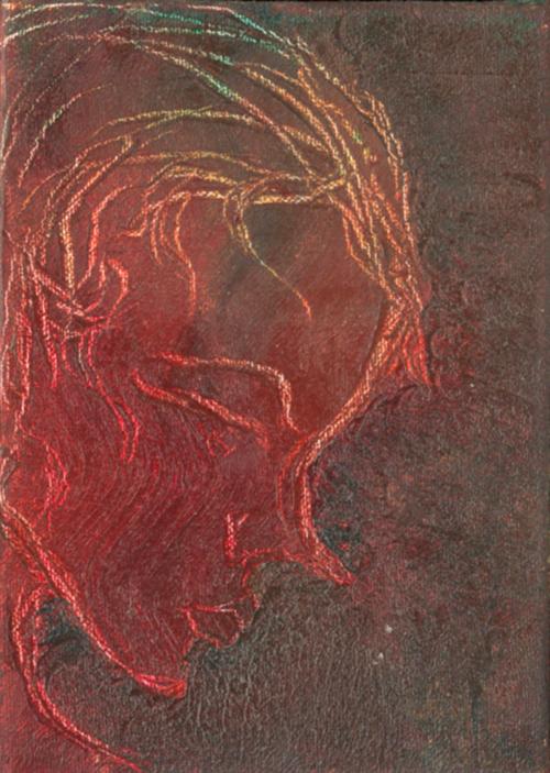 Pixie   2000 acrylic on canvas