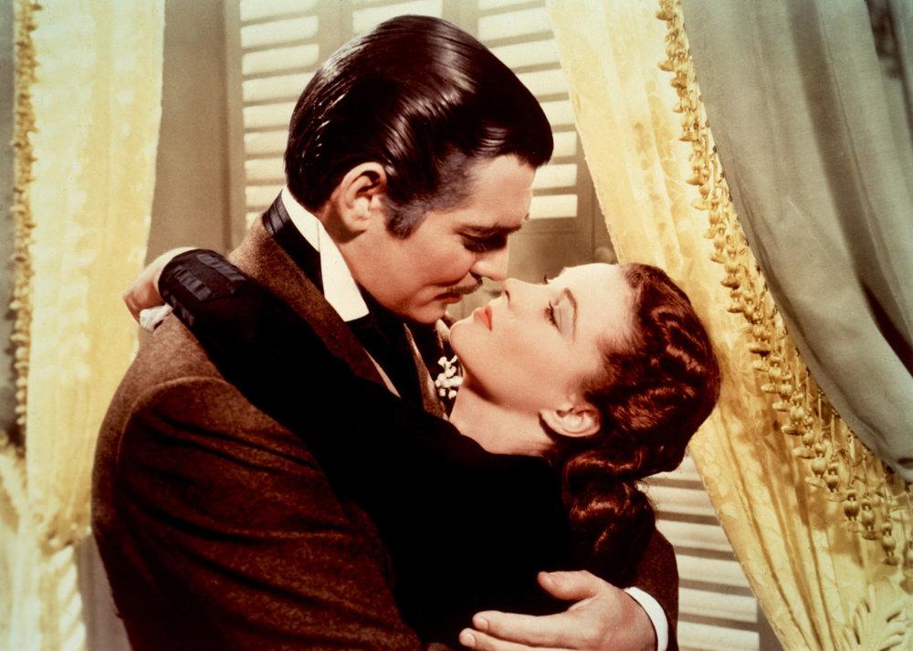 Gone With The Wind - Rhett finally catches Scarlett between husbands