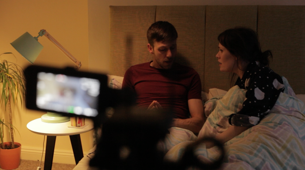 'Edward' played by Chris Iddon and 'Emily' played by Amy Telford