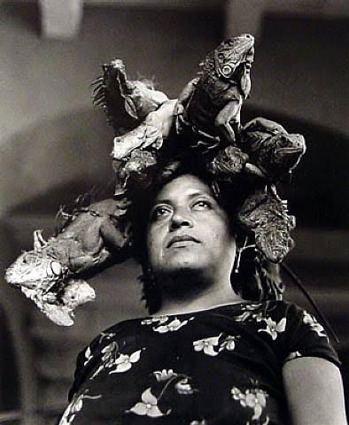 Graciela Iturbide, La Señora de las Iguanas