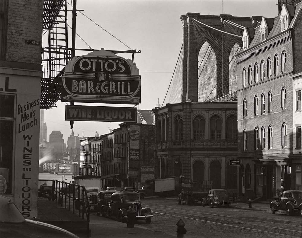 The Brooklyn Bridge, 1941