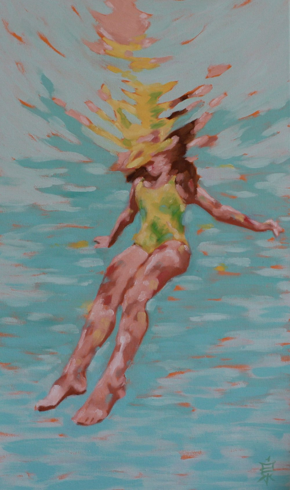 under the sun 32x24 oil on canvas