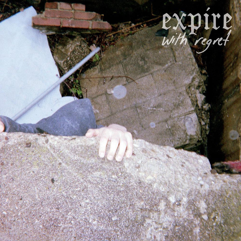 Album artwork as Expire guitarist Zach Dear's photo taken on disposable camera.