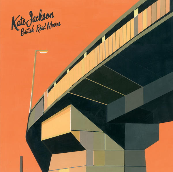 "Singer-songwriter Kate Jackson takes the design into her own hands on this record by painting this beautiful composition which depicts the mundane architecture of British motorways. ""The Flyover"", as this piece is titled, earned her a nomination for 'Best Art Vinyl 2016' by Art Vinyl.   Check out her other work   here"