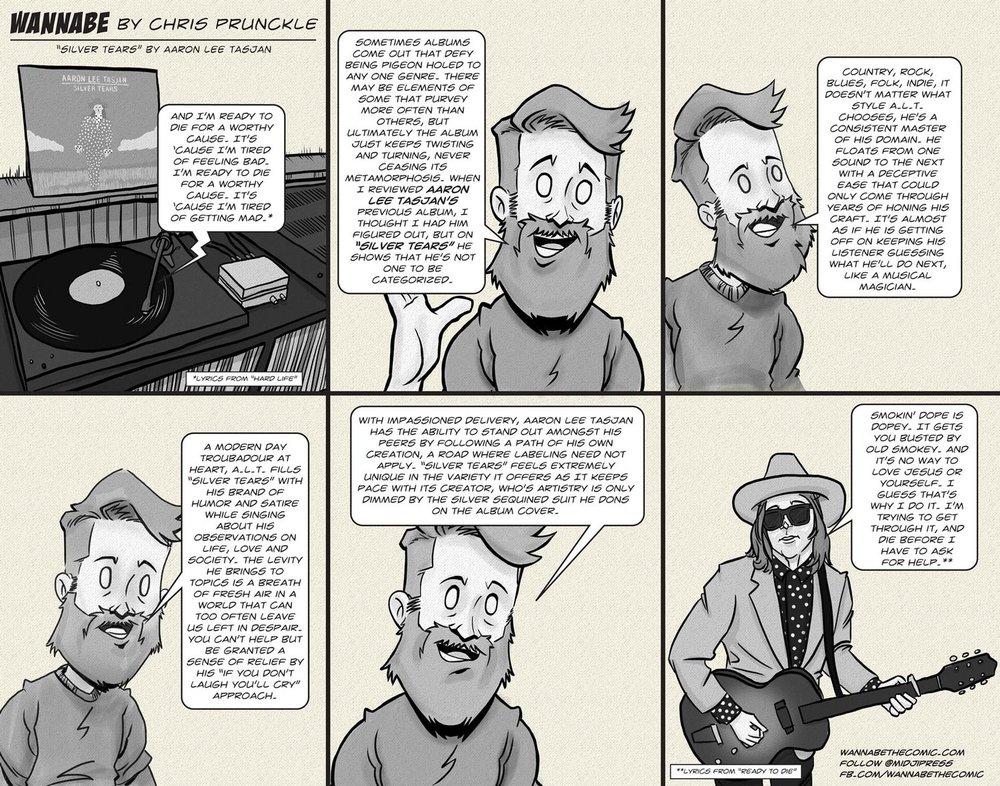 Chris Prunckle reviews  Silver Tears , by Aaron Lee Tasjan