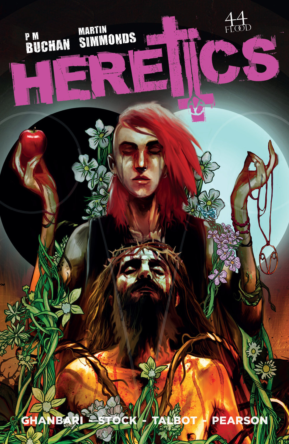 HERETICS Issue #0 cover