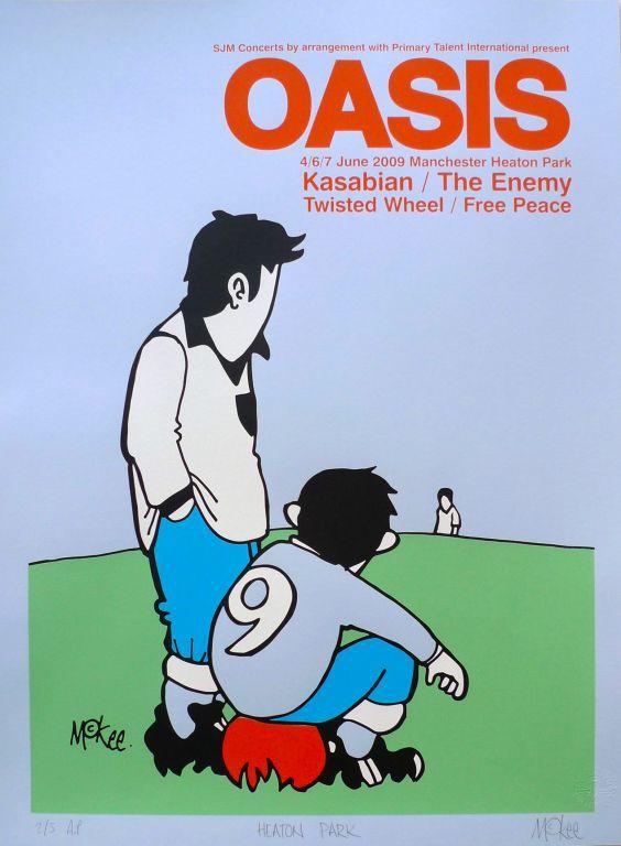Oasis w/ Kasabian/The Enemy/Twisted Wheel/Free Peace