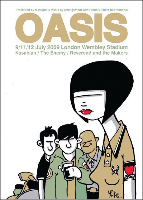 Oasis at Wembley Stadium
