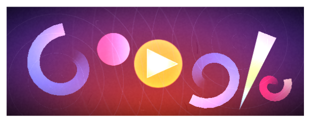 "Google's ""Oskar Fischinger's 117th Birthday"" doodle"