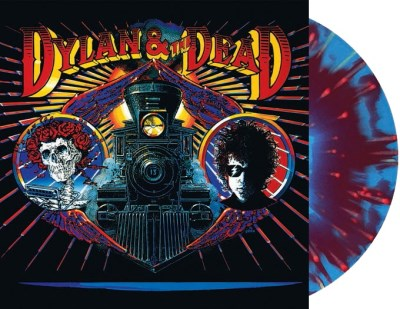 Dylan & The Dead , Bob Dylan & The Grateful Dead / 'RSD First' release on 'Red & Blue Tie-Die' vinyl