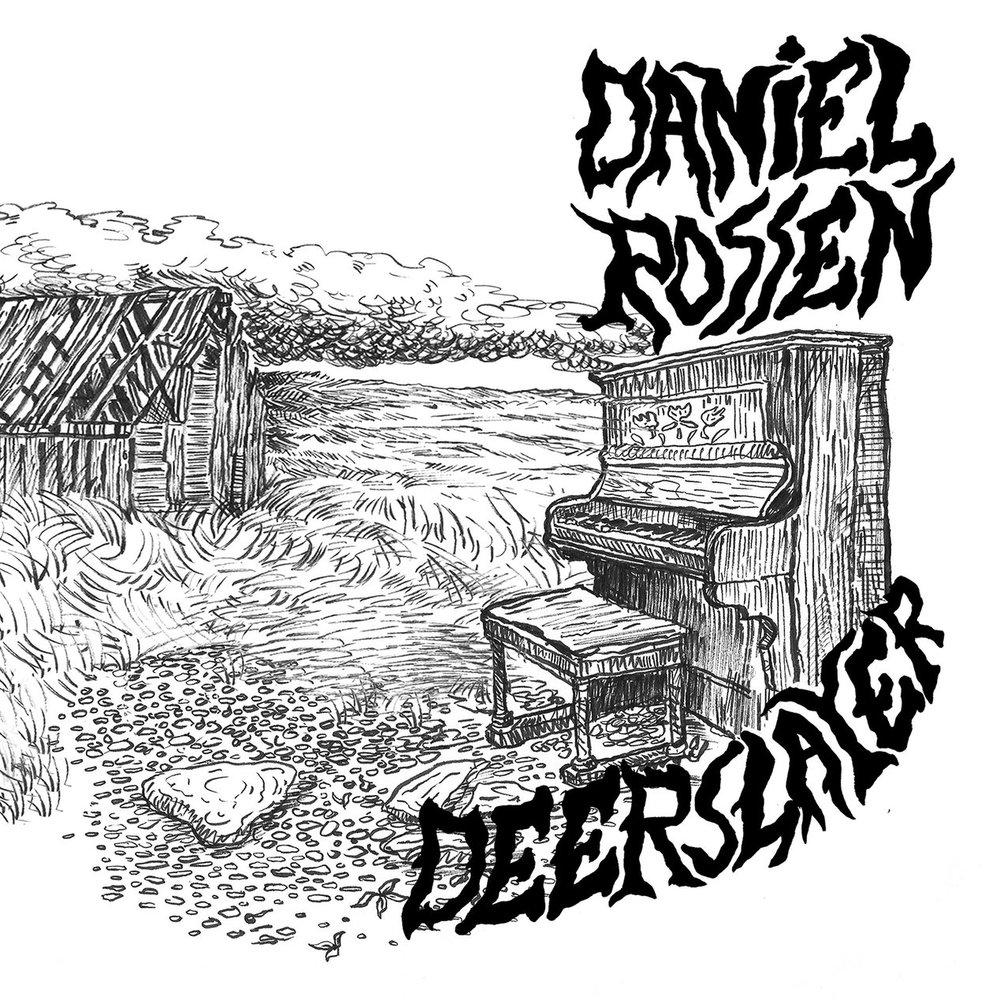 """Deerslayer , Daniel Rossen / Exclusive RSD 2018 12"""" vinyl, complete with original artwork by J. Penry"""