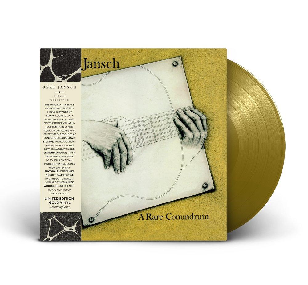 """A Rare Conundrum , Bert Jansch / Limited Edition 12"""" 'Gold' vinyl / 1000 copies"""