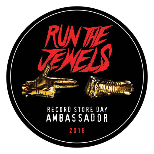 """Stay Gold Collectors Box , Run The Jewels / Limited Edition 12"""" 'Clear' vinyl box set, complete with Marvel Comics branded artwork, custom metal box, RTJ slip mat, collectible poster and sticker set / 5000 copies"""