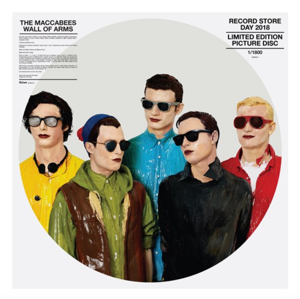 """Wall Of Arms , The Maccabees / Limited Edition, individually numbered 12"""" Picture Disc / 1800 copies"""