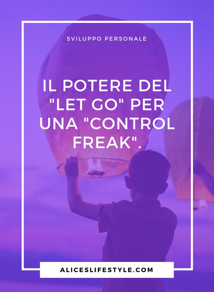 """Sono il perfetto esemplare di quella che in Inglese (Americano) chiamano """" Control Freak """", ovvero maniaca del controllo. Mi è sempre piaciuto apparire agli occhi degli altri come una donna libera, capace di sperimentare tutto, senza limiti e paure. Ma dietro quella 'Wonder Woman', che amavo tanto mostrare agli altri, si celava una persona fragile, impaurita dal cambiamento, con il continuo bisogno di avere la situazione sotto controllo."""