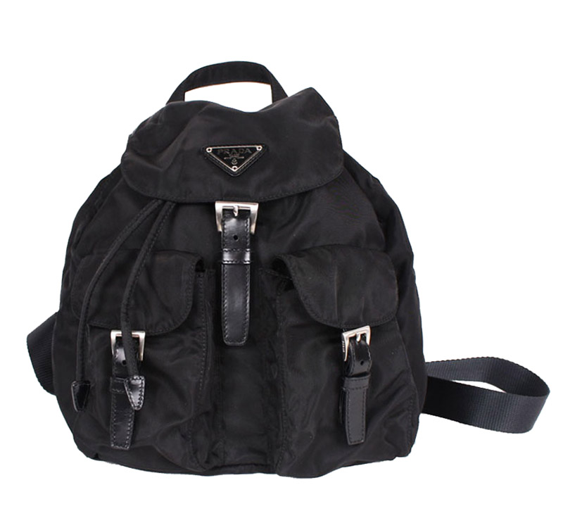 674ac33a41f9 Prada Small Black Nylon 2-Pocket Backpack. 349.00 895.00. sale. prada -2020_Front.jpg