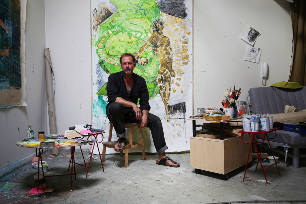 Alexandros Washburn Photographed at Redhook Studios by Emma Stoll
