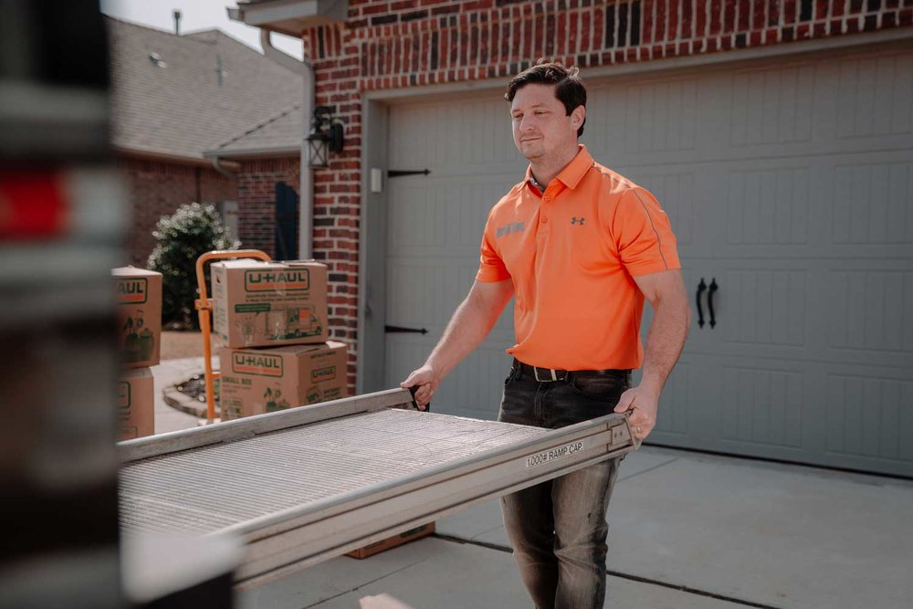 """Very effective and efficient. Best customer service around and the price is awesome. Roll off dumpsters are a great size. The moving services are fair with great hourly pricing. The junk removal process is quick and the pricing is amazing.""  - Daniel Humphrey"