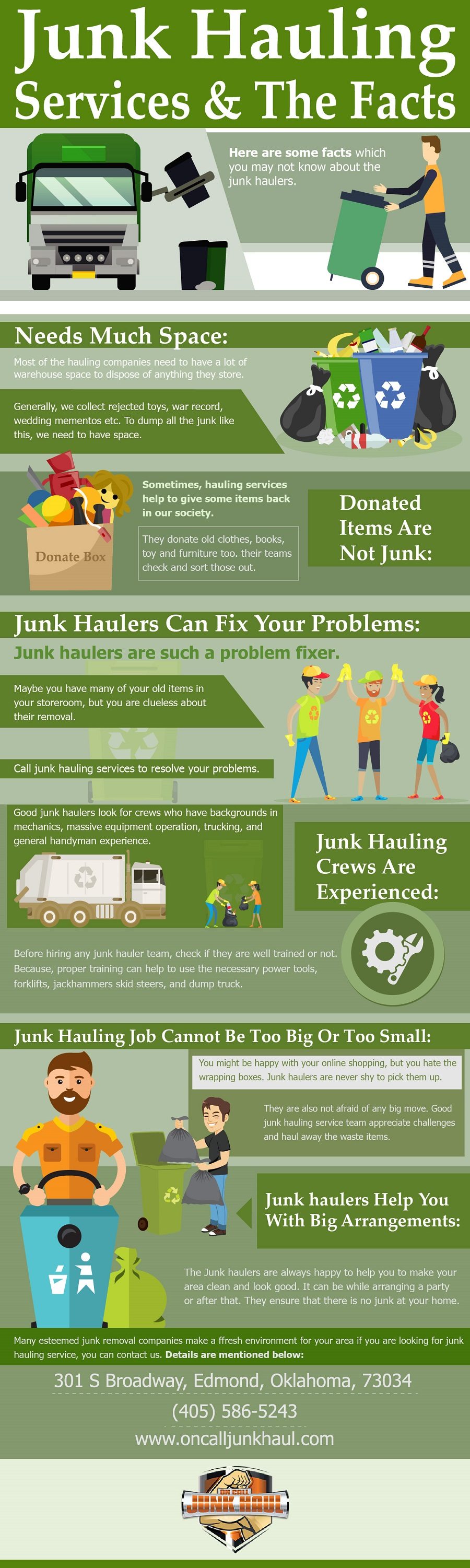 Junk Hauling Services & Facts