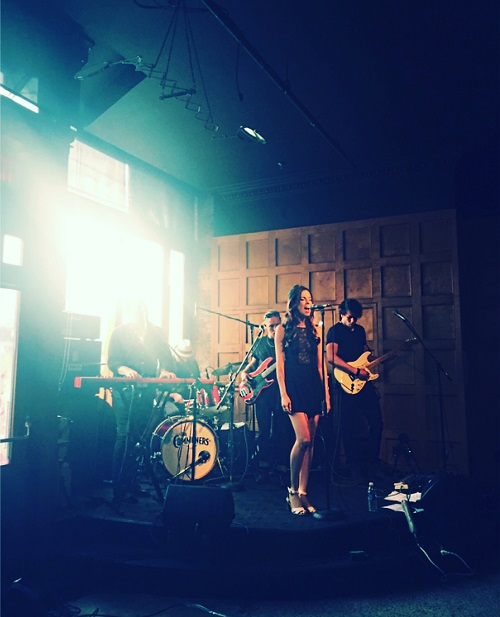 Thank you to the Ildsjel Collective for inviting us to perform at the Gladstone Hotel today. It was my first show with the new band and we had a blast. Ildsjel is a community for creative people and businesses pursuing their passions and looking to develop and grow collaboratively. http://ildsjel.ca/ Photo by Pina Cosentini