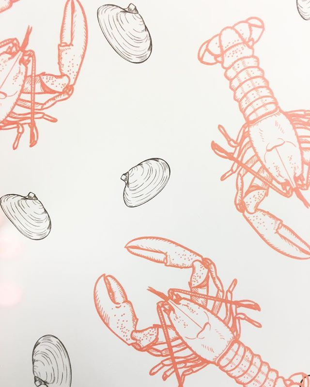 Sneak peek of one of our patterns! 🦀