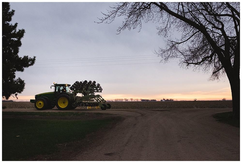 Nebraska farmer