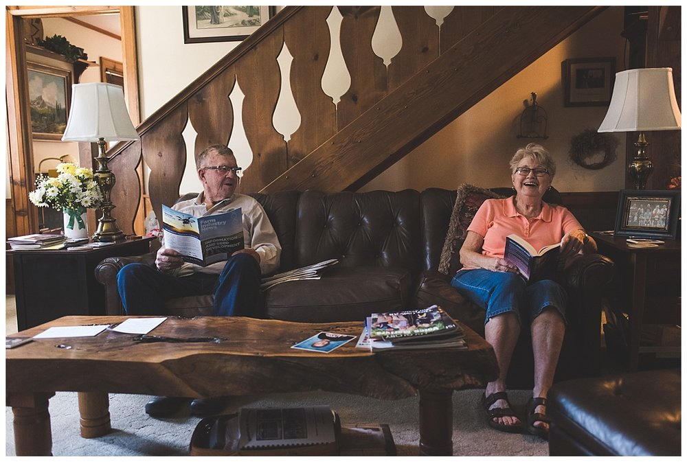 documentary photography//grandparents