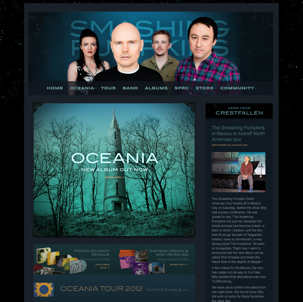 Grammy-winning band site