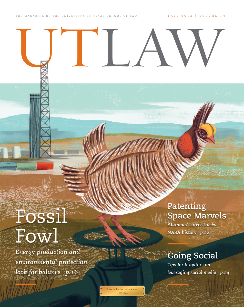 Law school alumni magazine