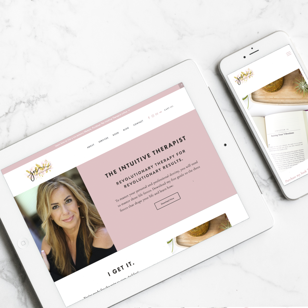 The Intuitive Therapist    Branding, Web Design, Print Design, Digital Marketing    View Project
