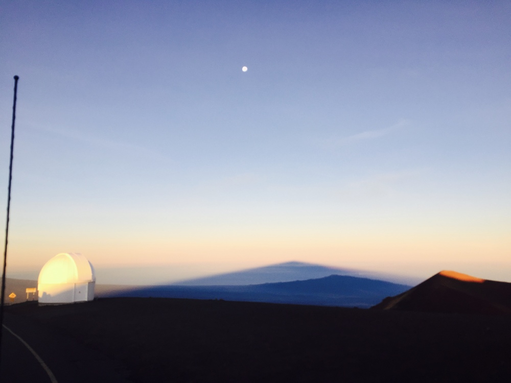 Shadow of Mauna Kea at Sunrise
