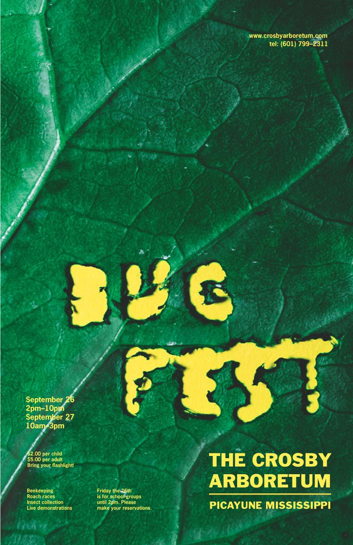 bug fest    advertising