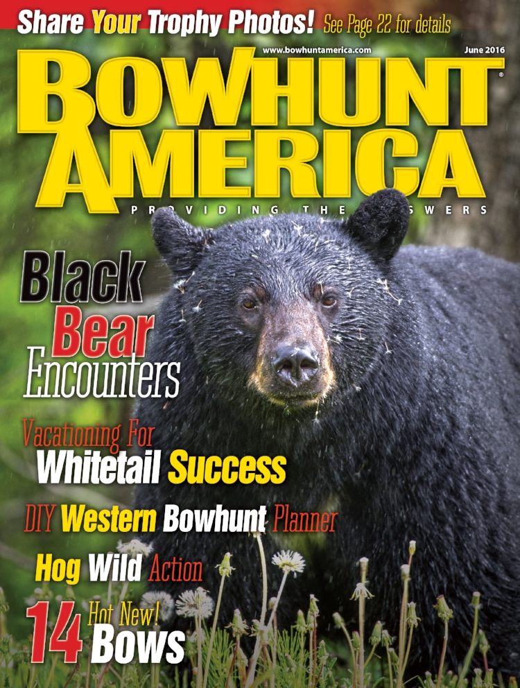 Bowhunt America Magazine's June 2016 issue highlighting Precision Peeps.