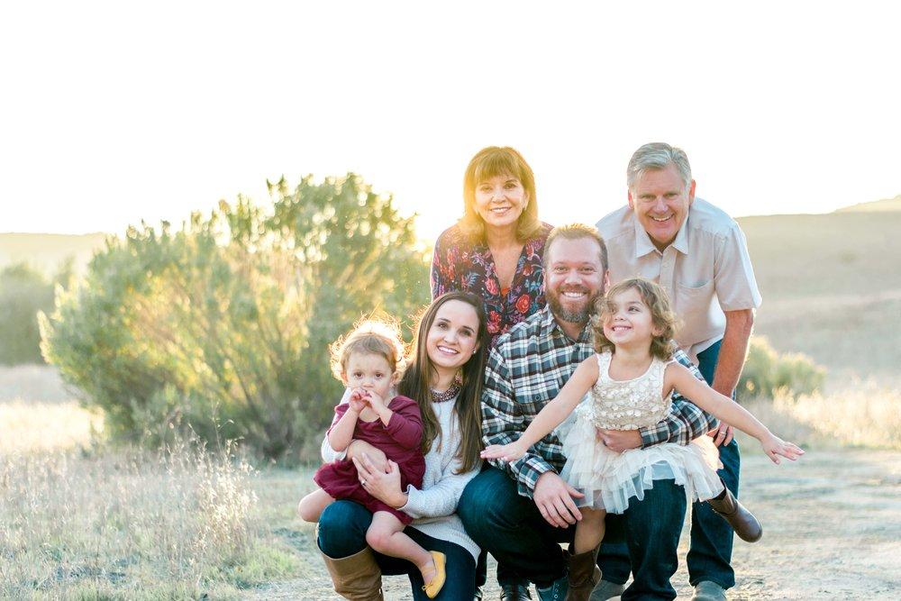 Posing Large Families