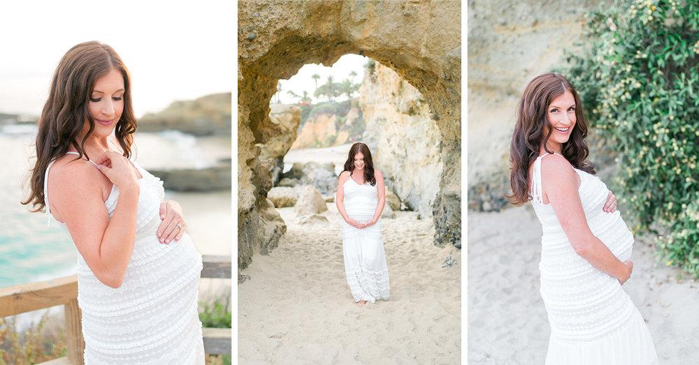Laguna Beach Golden Maternity Session