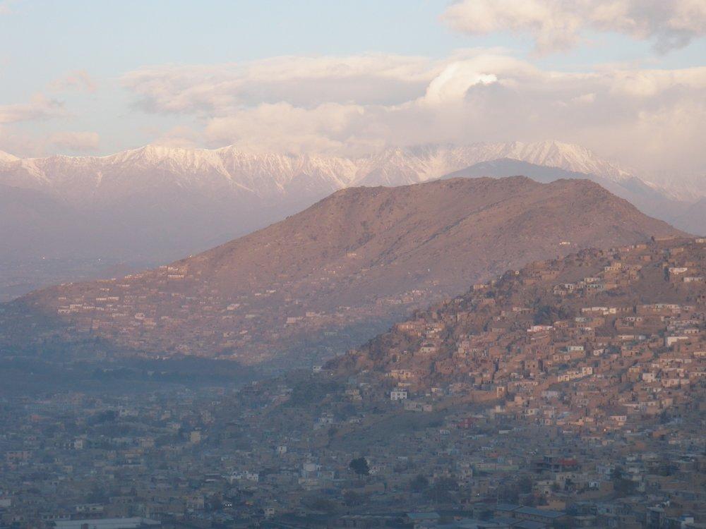 Kabul at dawn