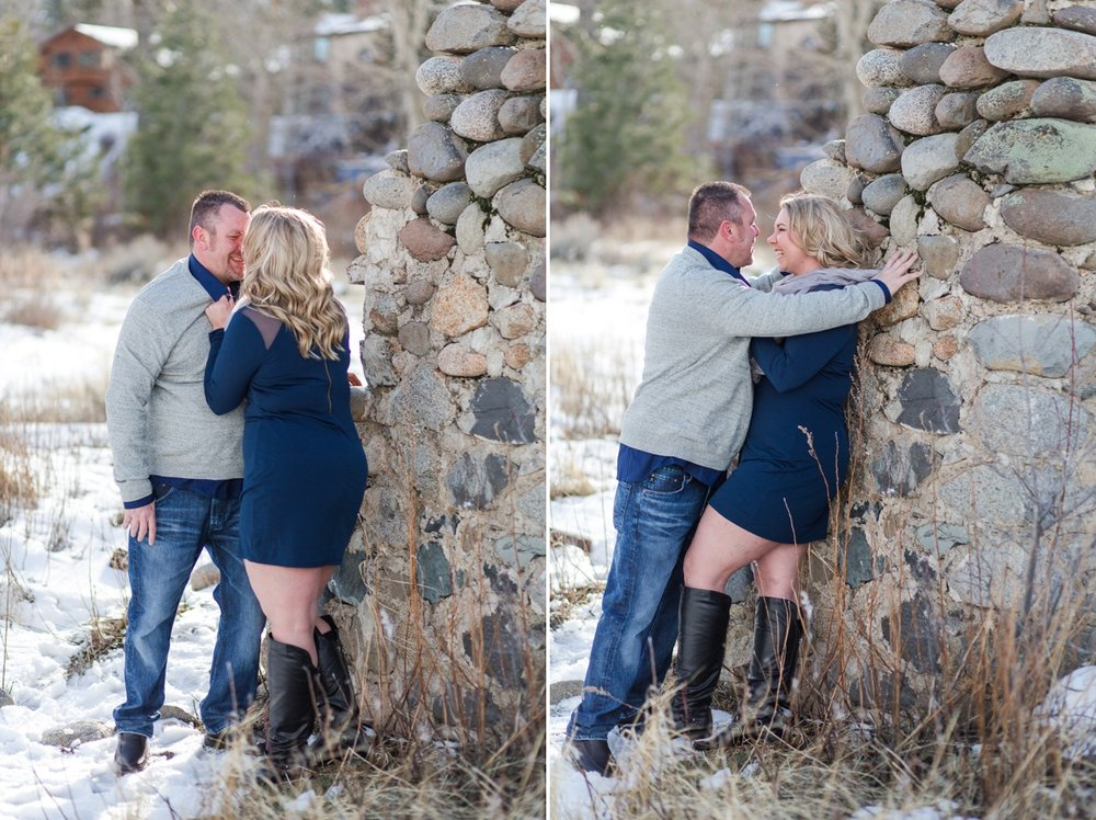 I love when my clients let themselves just forget about the camera and just be playful and have fun together!