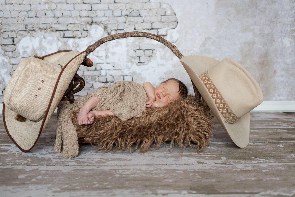 reno newborn photographer cowboy baby kristi gayton photography