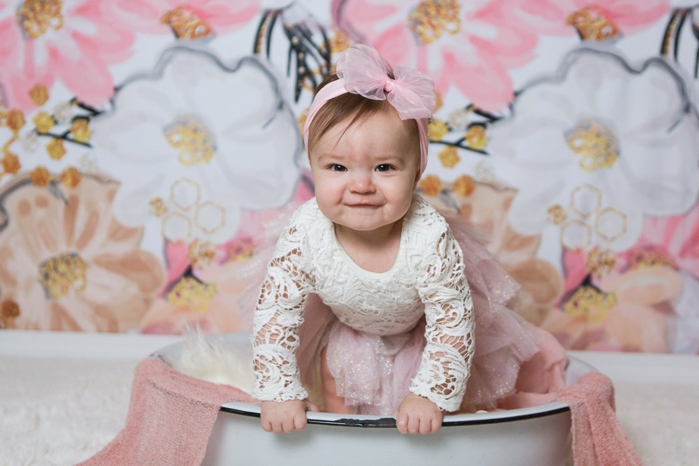 reno photographer baby audrina one year session kristi gayton photography