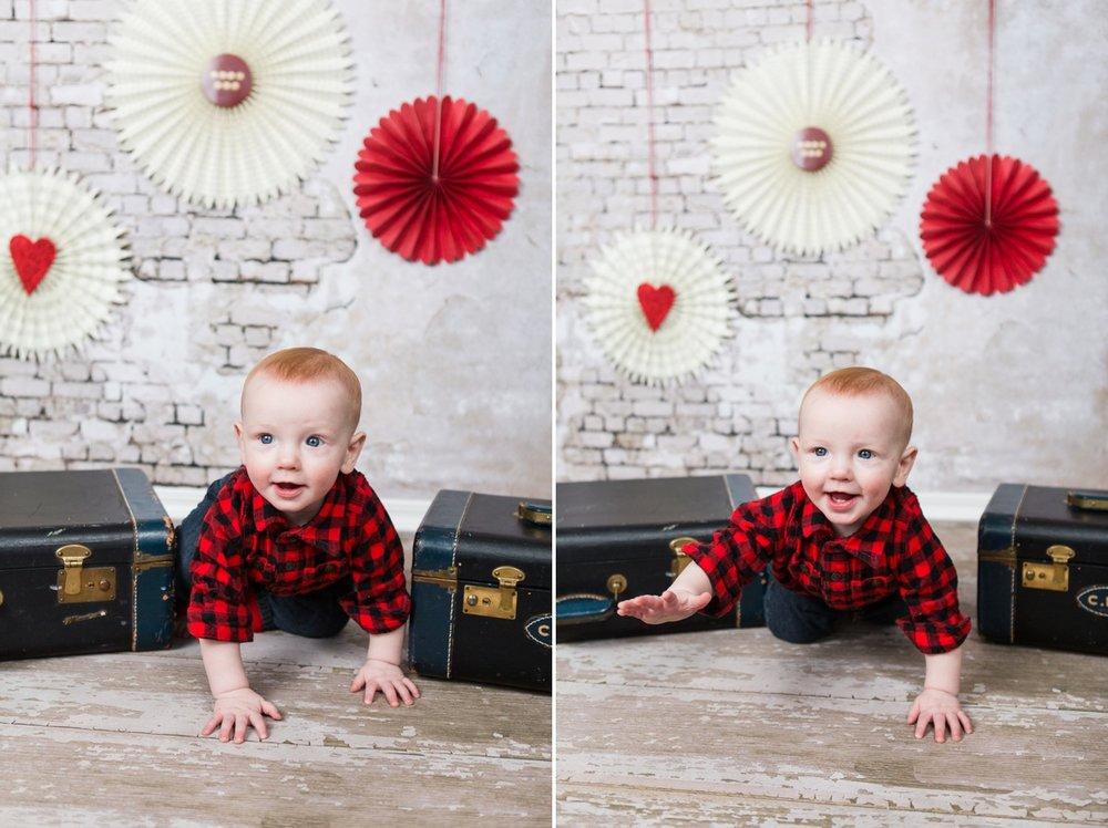 Reno baby photographer bryson valentines kristi gayton photography