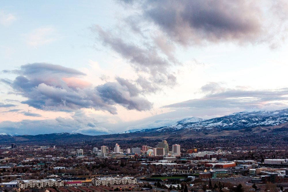 I love our Reno Skyline... we have the best of everything here!