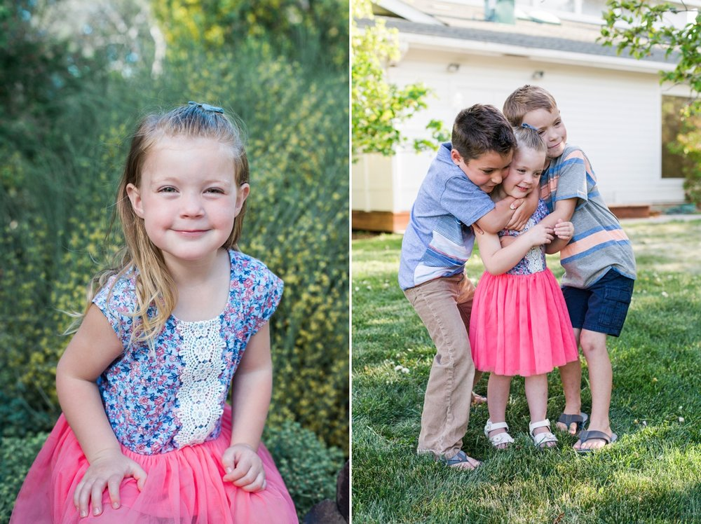 reno family photographer siblings hugging kristi gayton photography