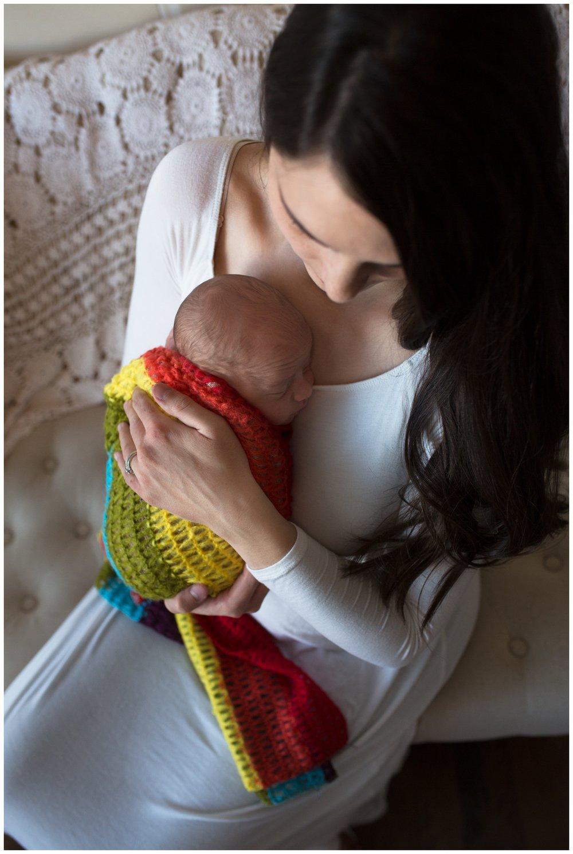 rainbow baby august reno newborn photographer