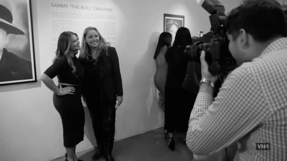 Sammy's daughter, Karen Gravano, with HiConcept's founder, Rachel Wilkins Blum