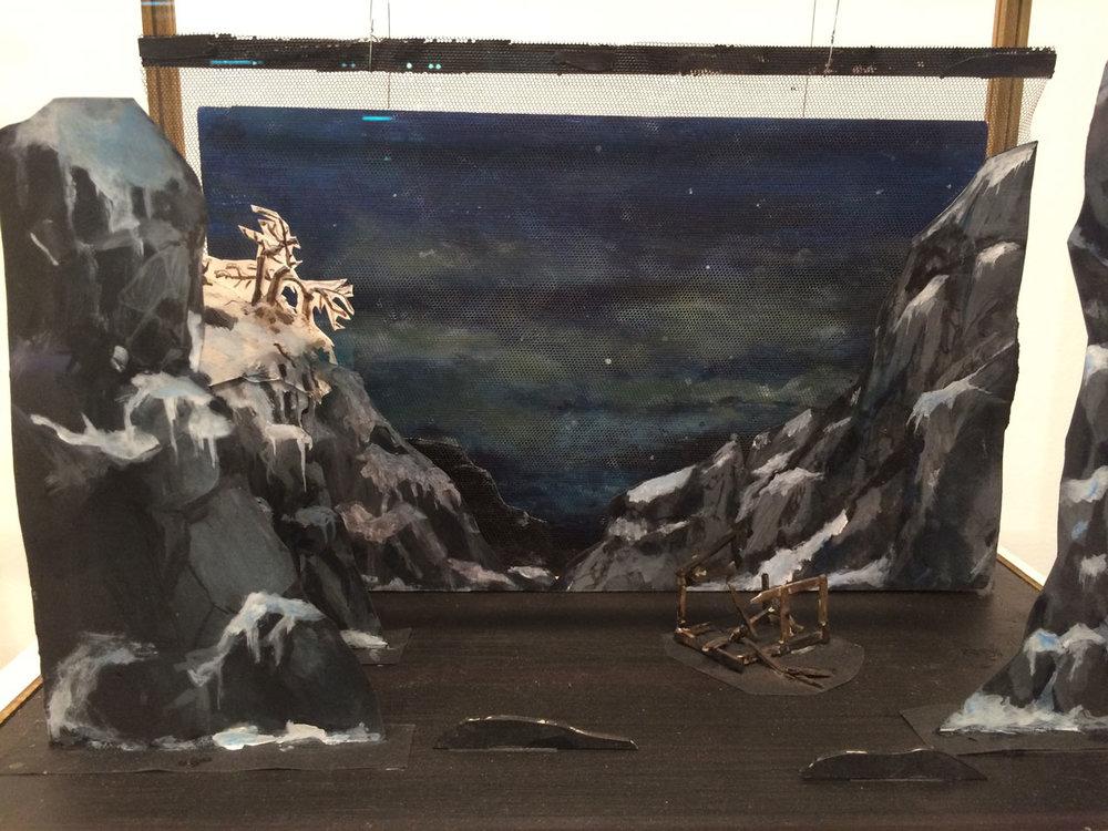 Ragnar Kjartansson,  Klang der Offenbarung Dioramas , 2016, mixed media in glass vitrine, i8 Gallery, Reykjavik, Iceland