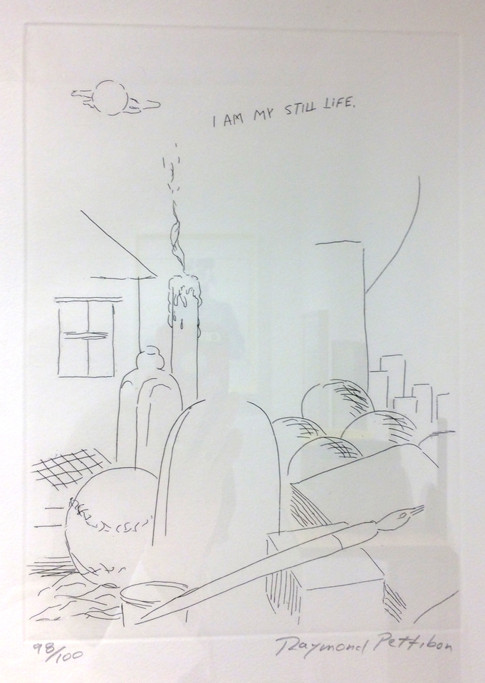Raymond Pettibon, I Am My…, 2001,Copperplate etching,Whitechapel Gallery,London,  UK